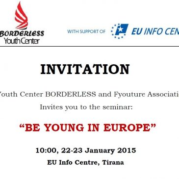 Be young in Europe