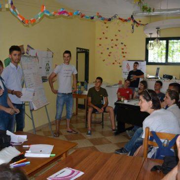 """The seminar """"Establishing ECO Marqinet Youth Club """""""